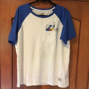 Disney x Vans T shirt Donald Duck pocket tee